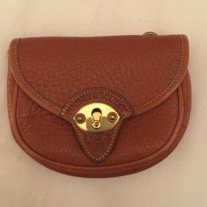 Dooney & Bourke pebbled leather bag clutch wallet